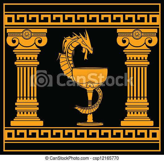 ancient pharmacy symbol Caduceus Medical Symbol Caduceus Medical Symbol Clip Art