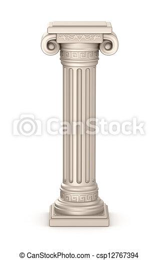 Ancient pillar - csp12767394