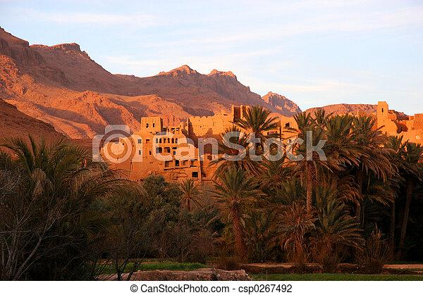 ancient ruins, morocco - csp0267492