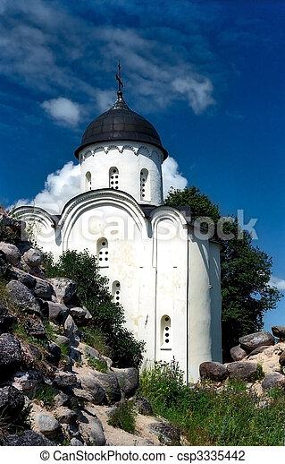 Ancient russian church - csp3335442