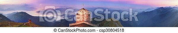 ancient stone observatory Pop Ivan - csp30804518