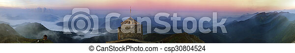 ancient stone observatory Pop Ivan - csp30804524