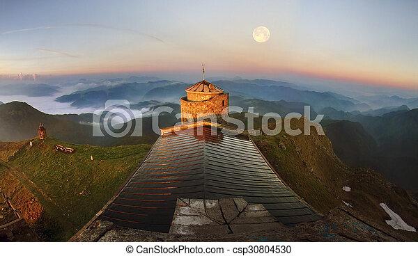 ancient stone observatory Pop Ivan - csp30804530