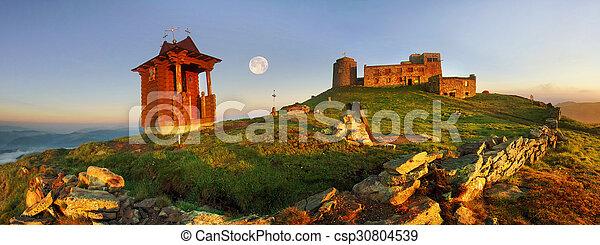 ancient stone observatory Pop Ivan - csp30804539