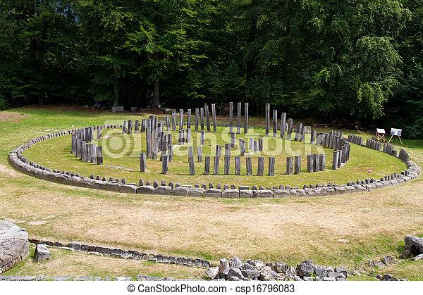 Ancient temple - csp16796083