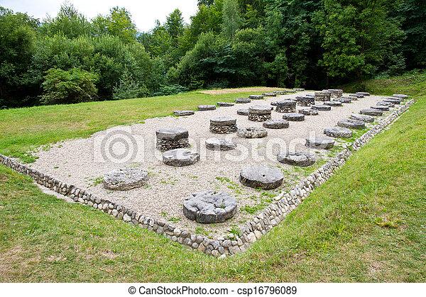 Ancient temple - csp16796089