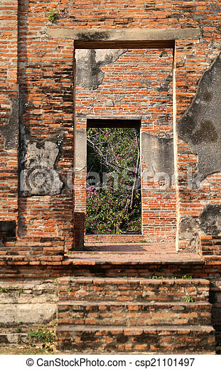 ancient Temple - csp21101497