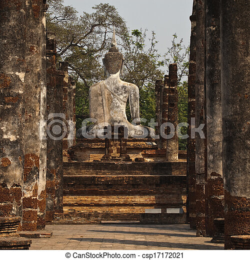 Ancient temple Thailand - csp17172021