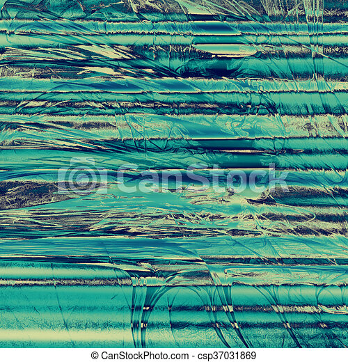 Ancient textured background or shabby backdrop. With different color patterns: yellow (beige); blue; gray; cyan - csp37031869
