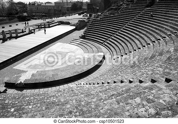 Ancient Theater of Fourviere - csp10501523