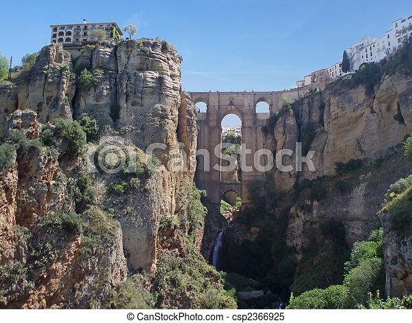 Ancient town Ronda - csp2366925