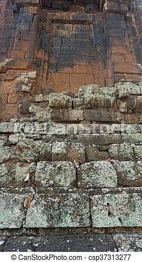 ancient wall - csp37313277