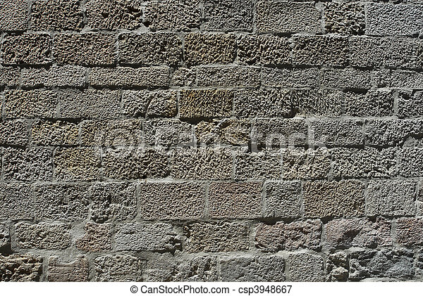 ancient wall - csp3948667