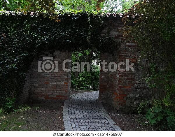 Ancient wall - csp14756907