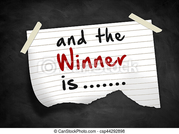 and the winner is - note message - csp44292898
