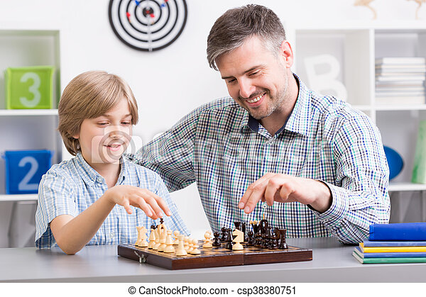 And who is a chess master? - csp38380751