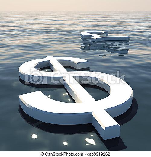 andare, forex, esposizione, soldi, lontano, dollaro, libbra, scambi, galleggiante, o - csp8319262