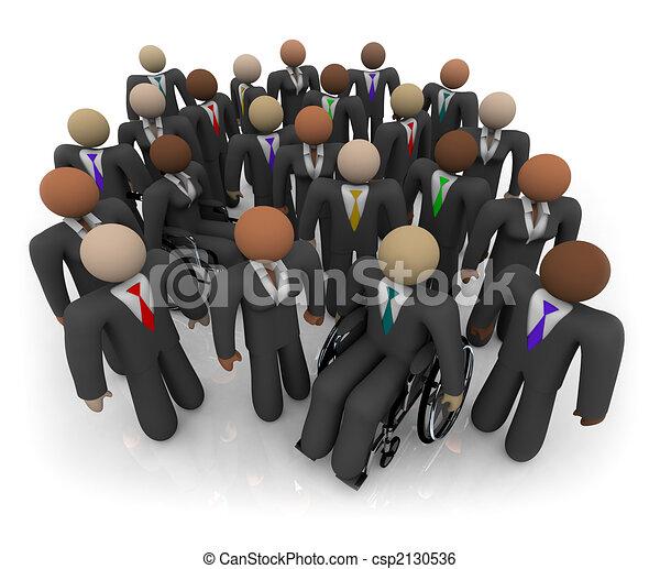 anders, groep, zakenlui - csp2130536