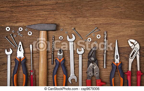 anders, set, gereedschap - csp9679306