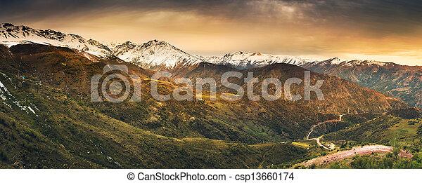 andino, alturas - csp13660174