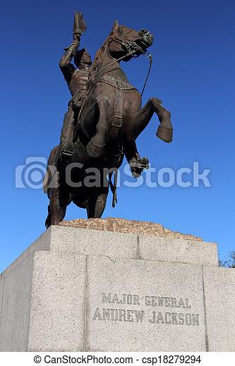 Andrew Jackson Monument - csp18279294
