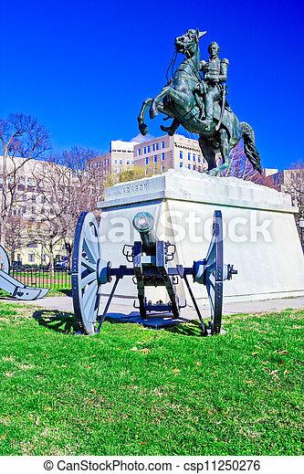 Andrew Jackson Monument, Washington DC - csp11250276