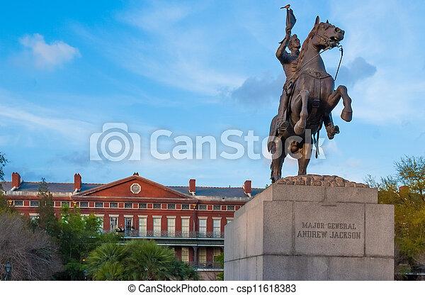 Andrew Jackson statue - csp11618383