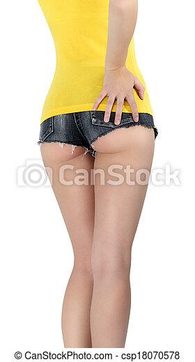 Short femme court jean - Vetement fitness et mode 57e12fc2eb1