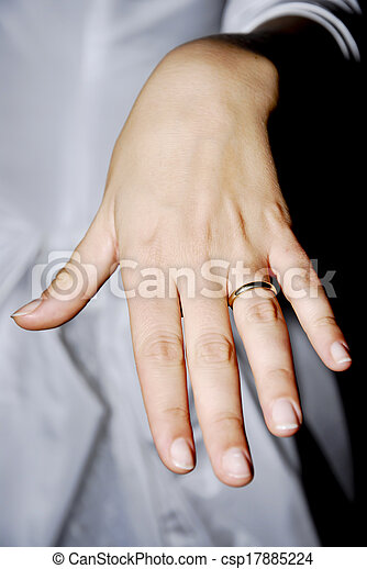 anello, matrimonio - csp17885224