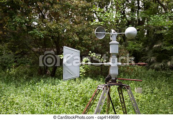Anemometer ( meteorology equipment ) - csp4149690