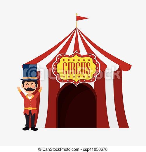 Anfitriao Bem Vindo Desenho Barraca Circo 10 Bem Vindo Circo