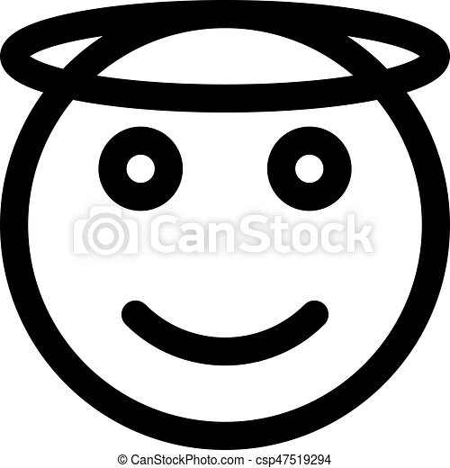 ange emoji csp47519294 - Dessin Emoji