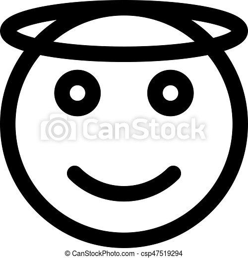 angel emoji smiling face clip art images smiling face clip art black and white