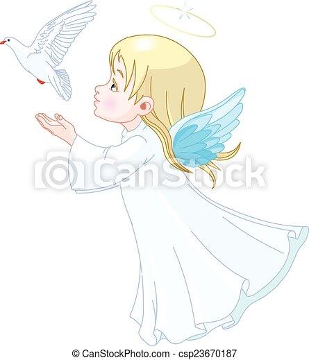 Angel - csp23670187