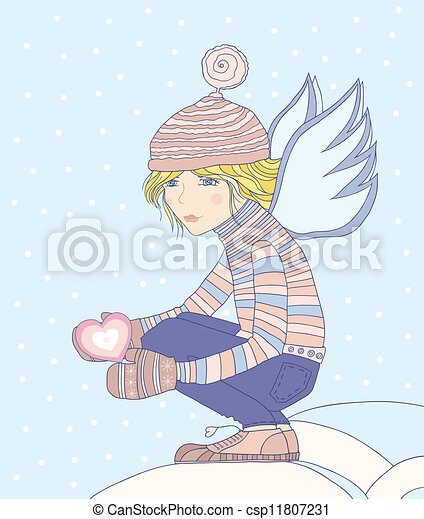 angel. - csp11807231