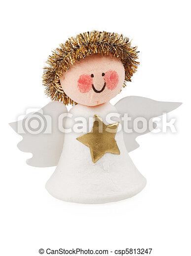 Angel of a set of scrapbooking - csp5813247