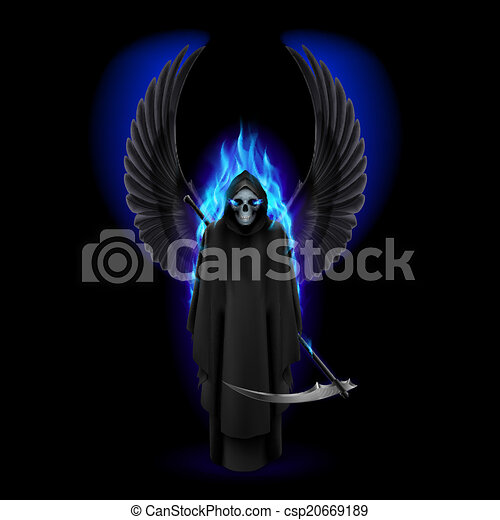 Angel of death - csp20669189