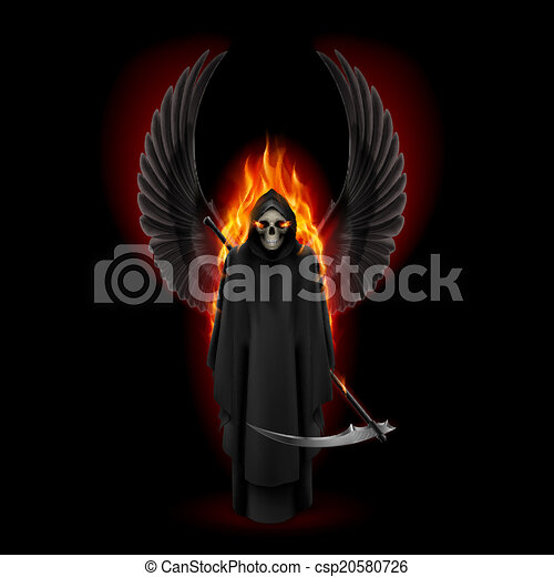 Angel of death - csp20580726