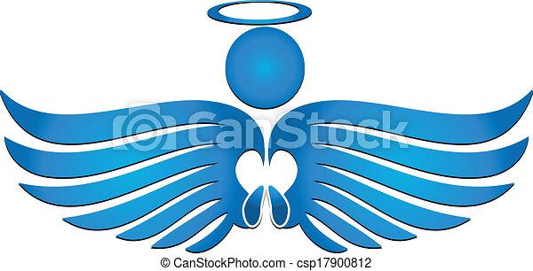Angel pray - csp17900812