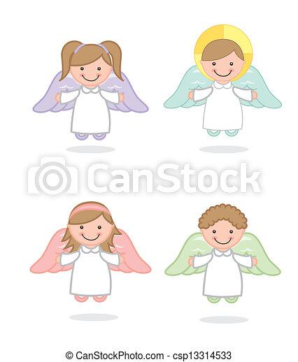 angel vector - csp13314533