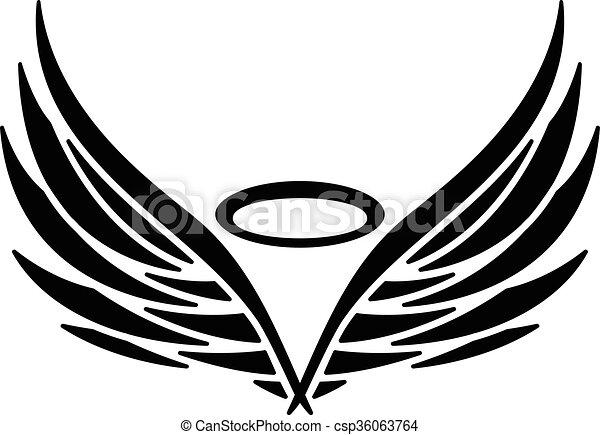 Angel Wings - csp36063764