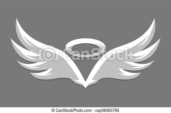 Angel Wings - csp36063765