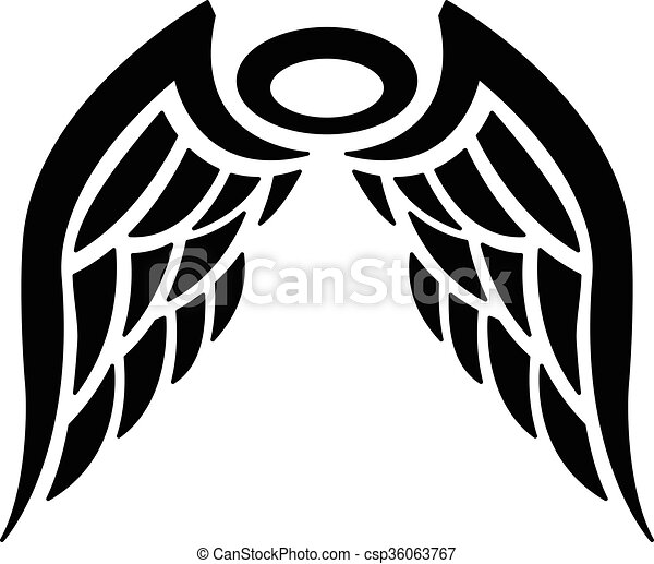 Angel Wings - csp36063767