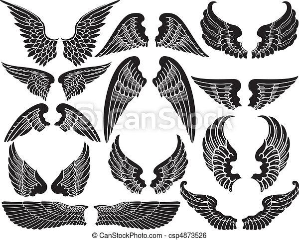 Angel Wings - csp4873526