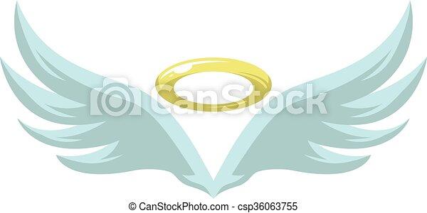 Angel Wings - csp36063755