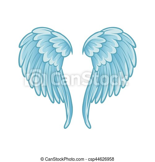 angel wings - csp44626958