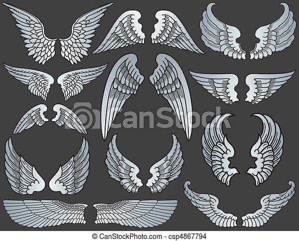 Angel Wings - csp4867794