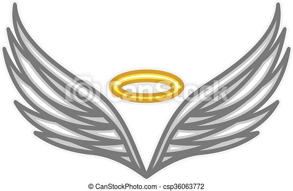 Angel Wings Vectors Illustration Search Clipart Drawings And Eps