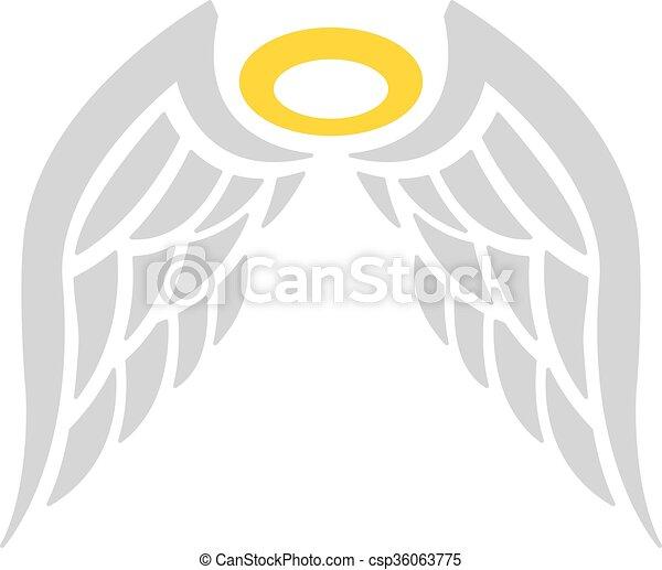 Angel Wings - csp36063775