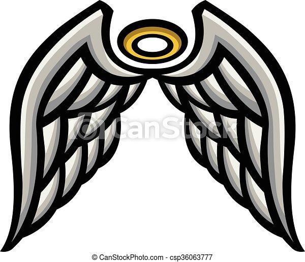Angel Wings - csp36063777